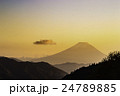 富士山シルエット 24789885