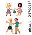 争う 子 子供のイラスト 24790437