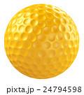 ボール ゴルフボール 球技のイラスト 24794598