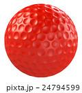 ボール ゴルフボール 球技のイラスト 24794599
