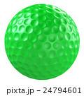 ボール ゴルフボール 球技のイラスト 24794601