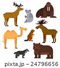 動物 アイコン イコンのイラスト 24796656