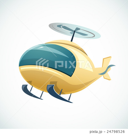 Helicopter vector illustrationのイラスト素材 [24798526] - PIXTA