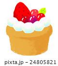 挿絵 お菓子 洋菓子のイラスト 24805821