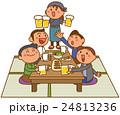 ベクター 人物 飲み会のイラスト 24813236