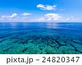 海、岩礁、風景、沖縄。 24820347