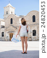 Young woman on a holiday vacation 24820453