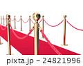 じゅうたん カーペット ロープのイラスト 24821996