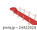 じゅうたん カーペット ステージのイラスト 24822028