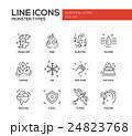 アイコン イコン 組み合わせのイラスト 24823768