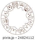 小型犬のフレーム 24824112