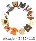小型犬のフレーム 24824113