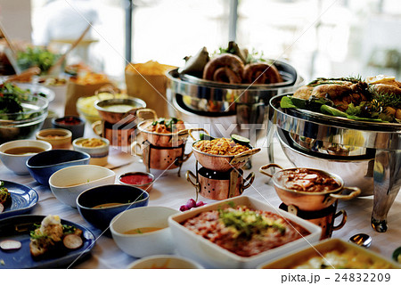 Food Catering Cuisine Culinary Gourmet Buffet Party Concept 24832209