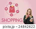 Eコマース 電子商取引 オンラインショッピングの写真 24842622