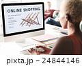 電子商取引 オンラインショッピング オンラインの写真 24844146