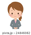 女性 ビジネスウーマン イラスト 24846082