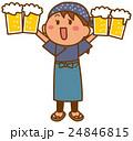 ベクター 居酒屋 店員のイラスト 24846815