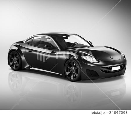 Car Automobile Speed Land Transportation Concept 24847093