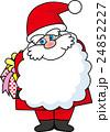 サンタクロース クリスマス サンタのイラスト 24852227