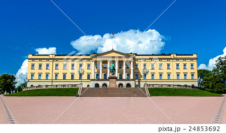 The Royal Palace in Oslo 24853692