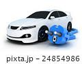 車 自動車 四輪車のイラスト 24854986