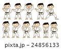 武道 空手 柔道 女性 24856133