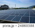 太陽光発電(ソーラーパネル) 24860388