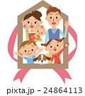 家 ベクター 家族のイラスト 24864113