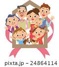 家 ベクター 家族のイラスト 24864114