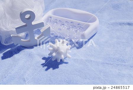 雑貨、バス、白、ホワイト、イメージ、お風呂、グッズ、 24865517