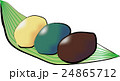三色おはぎ(毛筆風) 24865712