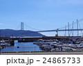 ヨットハーバー、海、垂水、アウトレットモール、明石海峡大橋 24865733