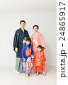 七五三 家族 全身の写真 24865917