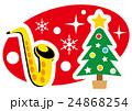 クリスマスのコンサート サックス 24868254