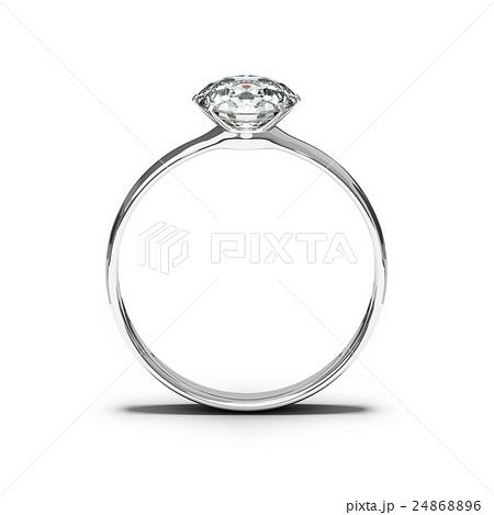 ダイヤモンドリング 指輪のイラスト素材 24868896 Pixta