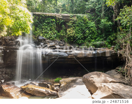 Little rainforest waterfall at Koh Kood 24871516