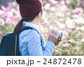 女性 カメラ女子 カメラの写真 24872478