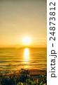 夕日 日没 夕焼けの写真 24873812