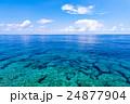 海、岩礁、風景、沖縄。 24877904