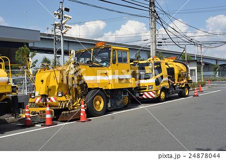 道路維持作業車 ロードスイーパーと散水車 24878044