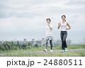 女性 エクササイズ 運動の写真 24880511