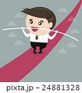 Business man balancing 24881328