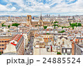Beautiful panoramic view of Paris 24885524