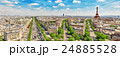 Beautiful panoramic view of Paris  24885528