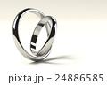 寄り添う2つの指輪 24886585