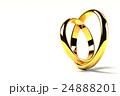 寄り添う2つの指輪 24888201