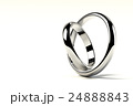 寄り添う2つの指輪 24888843
