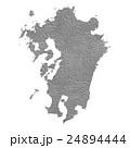 九州地図 24894444