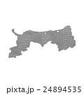 鳥取県地図 24894535
