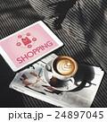コーヒー Eコマース オンラインショッピングの写真 24897045